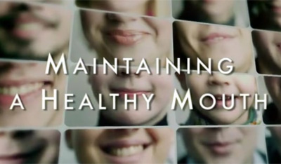 Maintaining a healthy mouth